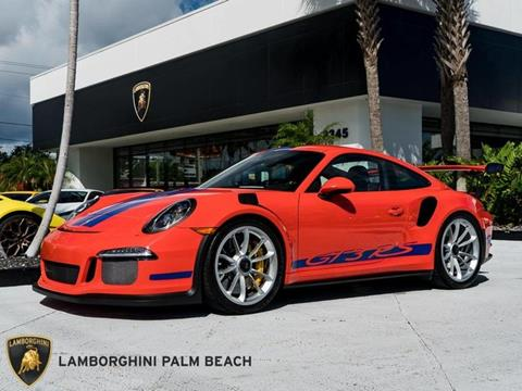2016 Porsche 911 for sale in West Palm Beach, FL