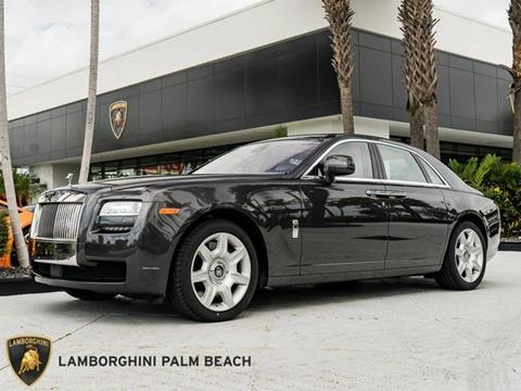 2011 Rolls-Royce Ghost for sale in West Palm Beach, FL