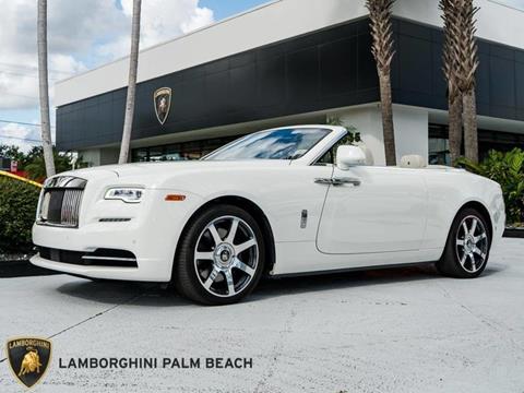 2017 Rolls-Royce Dawn for sale in West Palm Beach, FL