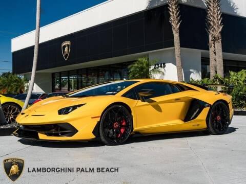 Used 2019 Lamborghini Aventador For Sale in Los Angeles, CA
