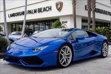 2015 Lamborghini Huracan for sale in West Palm Beach, FL