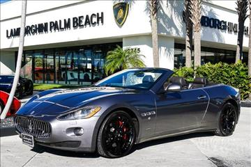 2012 Maserati GranTurismo for sale in West Palm Beach, FL