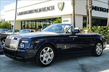 2010 Rolls-Royce Phantom Drophead Coupe for sale in West Palm Beach, FL