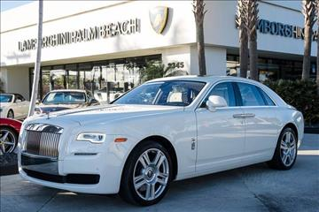 2015 Rolls-Royce Ghost Series II for sale in West Palm Beach, FL