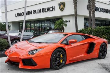 2012 Lamborghini Aventador for sale in West Palm Beach, FL
