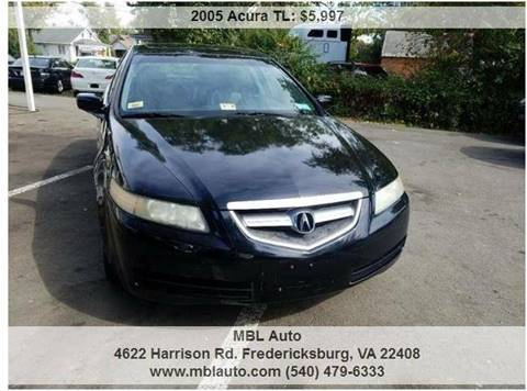 2005 Acura TL for sale in Fredericksburg, VA