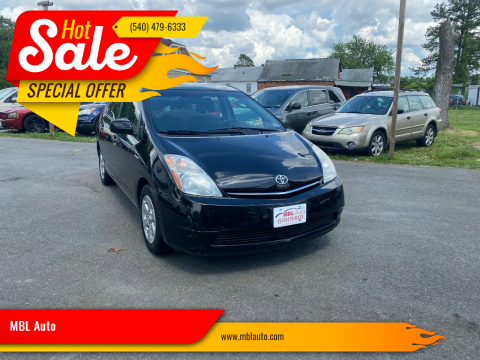 2009 Toyota Prius for sale at MBL Auto Woodford in Woodford VA