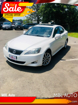 2006 Lexus IS 250 for sale at MBL Auto Woodford in Woodford VA