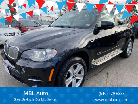 2012 BMW X5 for sale at MBL Auto Woodford in Woodford VA