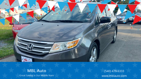 2011 Honda Odyssey for sale at MBL Auto Woodford in Woodford VA