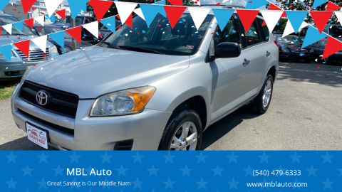 2009 Toyota RAV4 for sale at MBL Auto in Fredericksburg VA