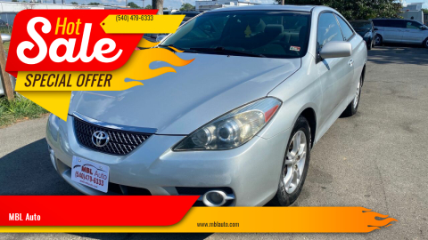 2007 Toyota Camry Solara for sale at MBL Auto in Fredericksburg VA