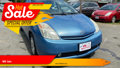2005 Toyota Prius for sale at MBL Auto Woodford in Woodford VA