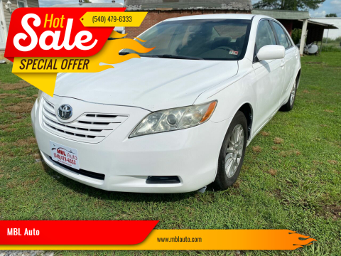2007 Toyota Camry for sale at MBL Auto in Fredericksburg VA