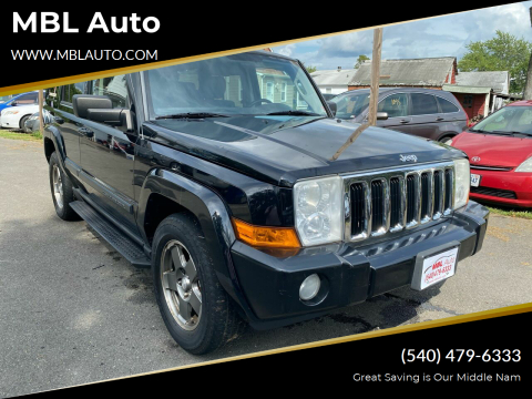 2007 Jeep Commander for sale at MBL Auto in Fredericksburg VA