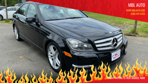 2012 Mercedes-Benz C-Class for sale at MBL Auto Woodford in Woodford VA