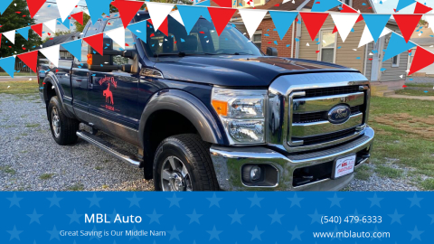 2012 Ford F-250 Super Duty for sale at MBL Auto Woodford in Woodford VA