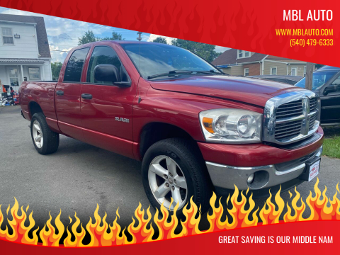 2008 Dodge Ram Pickup 1500 for sale at MBL Auto Woodford in Woodford VA