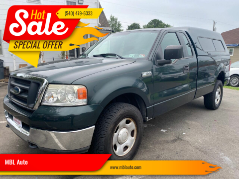 2004 Ford F-150 for sale at MBL Auto Woodford in Woodford VA