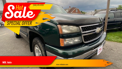 2006 Chevrolet Silverado 1500 for sale at MBL Auto Woodford in Woodford VA