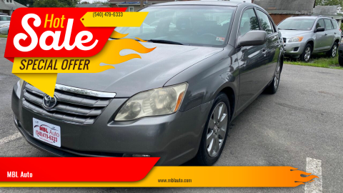 2006 Toyota Avalon for sale at MBL Auto in Fredericksburg VA