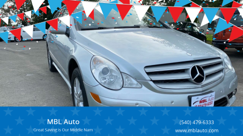 2008 Mercedes-Benz R-Class for sale at MBL Auto in Fredericksburg VA