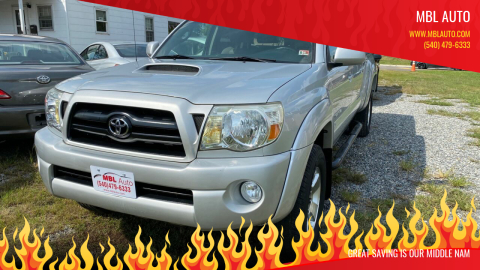 2005 Toyota Tacoma for sale at MBL Auto in Fredericksburg VA