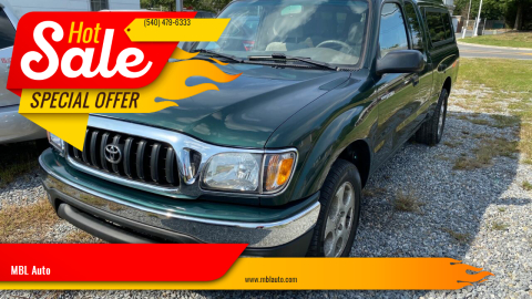 2001 Toyota Tacoma for sale at MBL Auto Woodford in Woodford VA