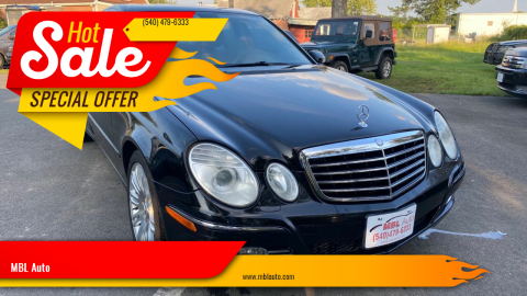 2007 Mercedes-Benz E-Class for sale at MBL Auto Woodford in Woodford VA