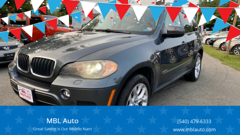 2011 BMW X5 for sale at MBL Auto in Fredericksburg VA