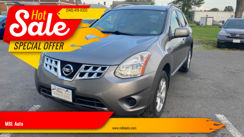 2011 Nissan Rogue for sale at MBL Auto in Fredericksburg VA