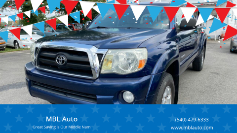 2008 Toyota Tacoma for sale at MBL Auto in Fredericksburg VA
