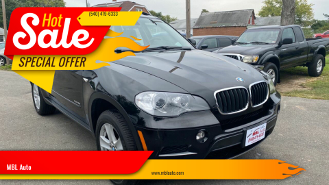 2013 BMW X5 for sale at MBL Auto in Fredericksburg VA