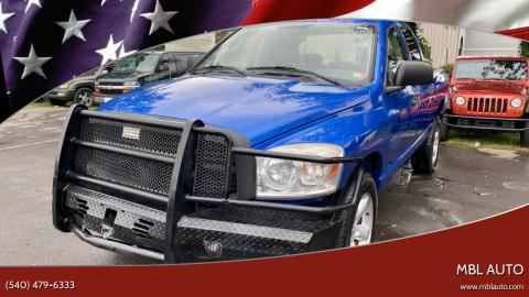 2007 Dodge Ram Pickup 1500 for sale at MBL Auto in Fredericksburg VA