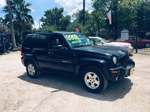 2003 Jeep Liberty for sale in Houston, TX