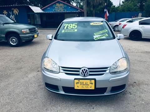 2008 Volkswagen Rabbit for sale in Houston, TX