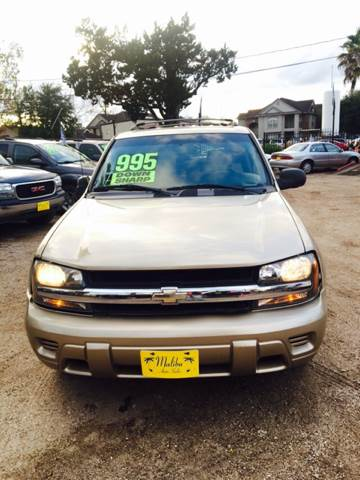2006 Chevrolet TrailBlazer For Sale At Malibu Auto Sales In Houston TX