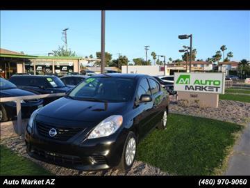 2012 Nissan Versa for sale in Scottsdale, AZ