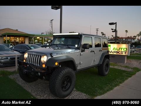 2014 Jeep Wrangler Unlimited for sale in Scottsdale, AZ