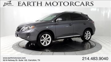 2012 Lexus RX 350 for sale in Carrollton, TX