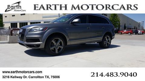 2014 Audi Q7 for sale in Carrollton, TX