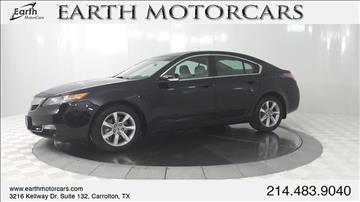 2013 Acura TL for sale in Carrollton, TX