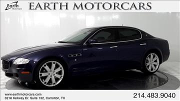 2007 Maserati Quattroporte for sale in Carrollton, TX