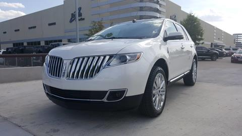 2015 Lincoln MKX for sale in Carrollton, TX