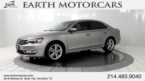 2013 Volkswagen Passat for sale in Carrollton, TX
