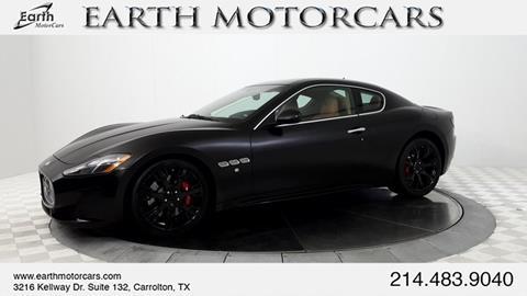 2013 Maserati GranTurismo for sale in Carrollton, TX