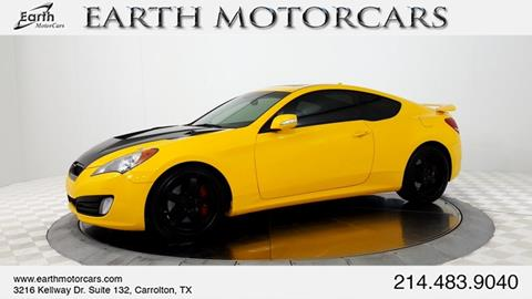 2011 Hyundai Genesis Coupe for sale in Carrollton, TX