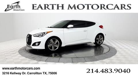 2013 Hyundai Veloster Turbo for sale in Carrollton, TX