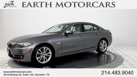 2015 BMW 5 Series for sale in Carrollton, TX