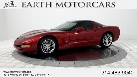 2004 Chevrolet Corvette for sale in Carrollton, TX